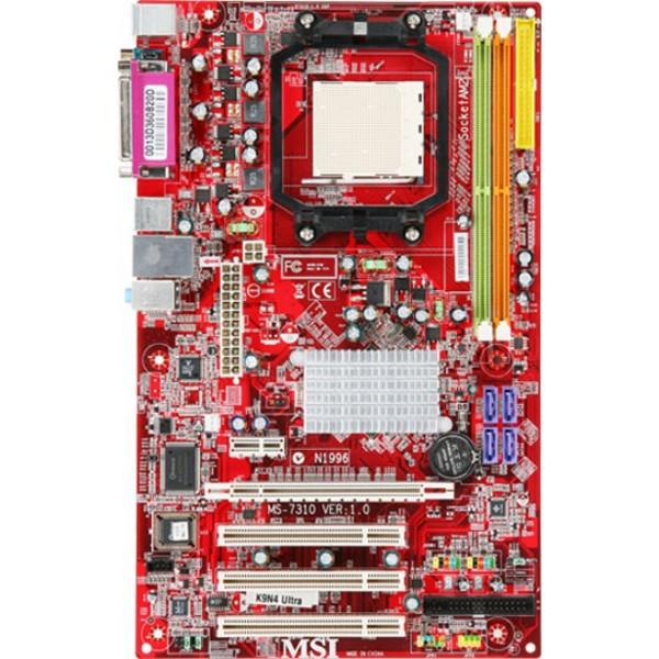 Placa de baza MSI Socket AM2 7310 Suporta X2 DDR2 PCI-E S-ATA Garantie 6 luni