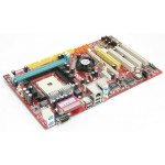 Placa de Baza Socket 754 MSI MS-7135 / 1 x PCI Express x1/ 3x PCI / 1x AGP Audio si Retea Integrat