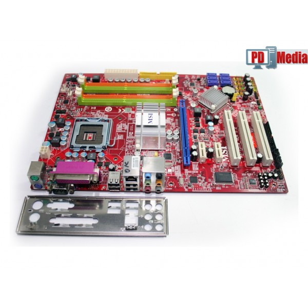 Placa de baza MSI P43 Neo Intel Core 2 Extreme 16GB Max Audio 8-canale