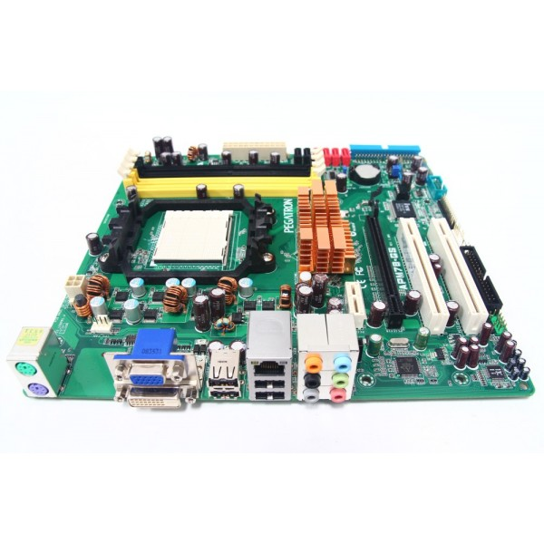 Placa De Baza Socket Am2 Asus Apm78-Gs Suporta Procesoare Am2 Am2+ Shield Inclus Dvi-Vga