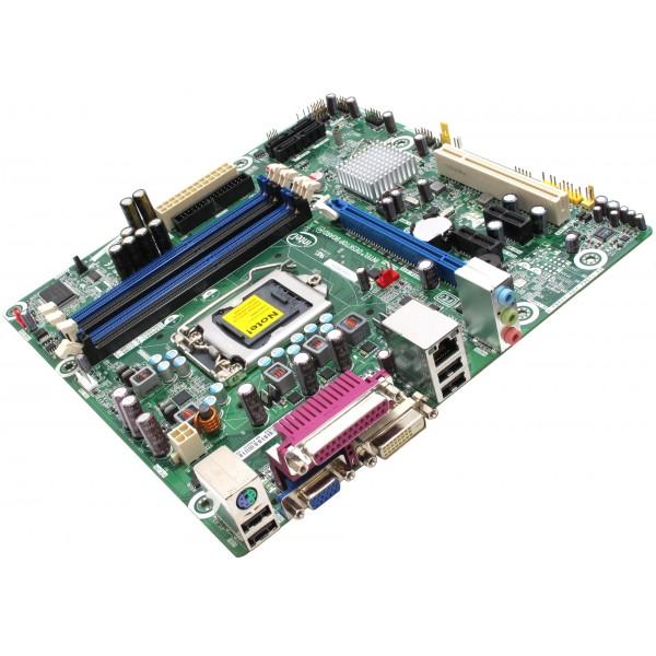 Placa de baza Intel DQ57TML DDR3 Max. 16 GB LGA1156 suporta Xeon, Core i5, Core i3, Core i7