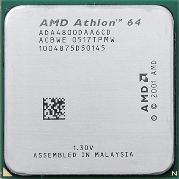 AMD Athlon 64 X2 4800 2.5 GHz 2 x 512 KB L2 Cache