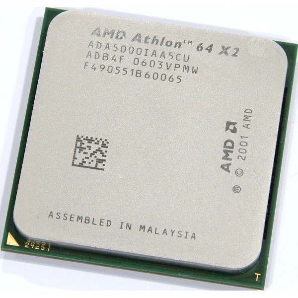 Procesor AMD Athlon 5000+ X2 2600MHz 64 Bit Socket AM2