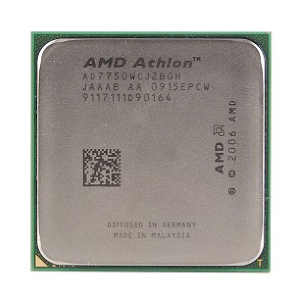 AMD Athlon X2 7750 2.7 GHz 2 x 512 KB L2 Cache