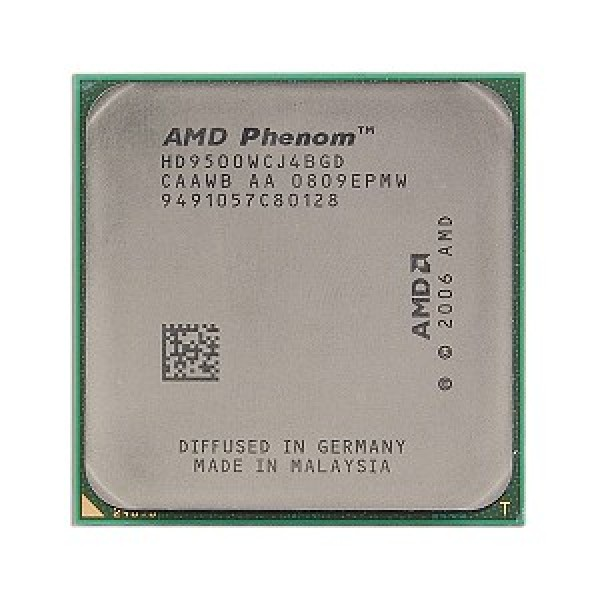 AMD Phenom X4 9500 2200 MHz Socket AM2+ Socket AM2 64 bit
