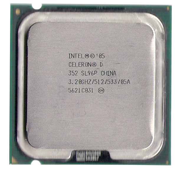 Procesor Intel Celeron D 352 3.2Ghz 512 KB, 533 MHz, 64 bit, 65 nm Socket 775