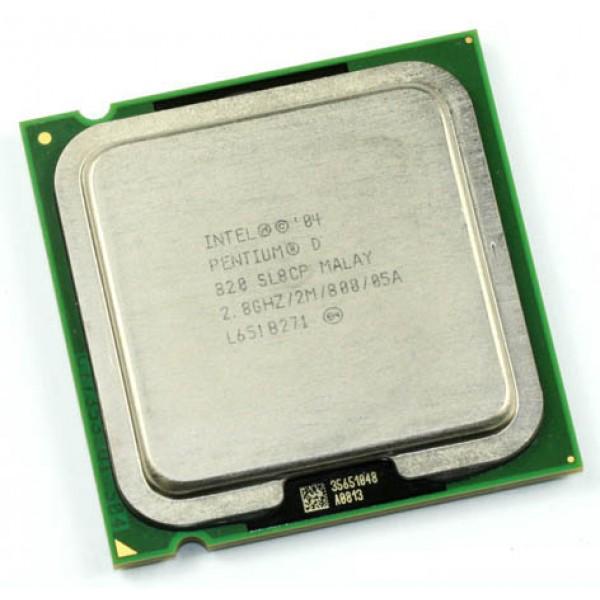 Intel Pentium D Processor 820  (2M Cache, 2.80 GHz, 800 MHz FSB)