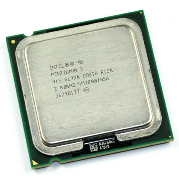 Intel Pentium D Processor 915  (4M Cache, 2.80 GHz, 800 MHz FSB)
