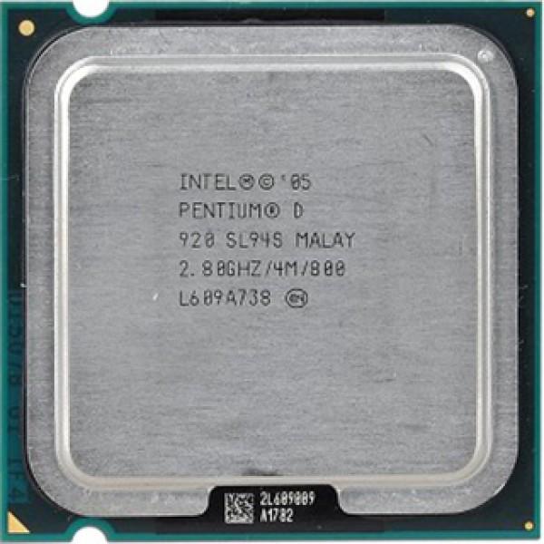 Intel Pentium D Processor 920  (4M Cache, 2.80 GHz, 800 MHz FSB)