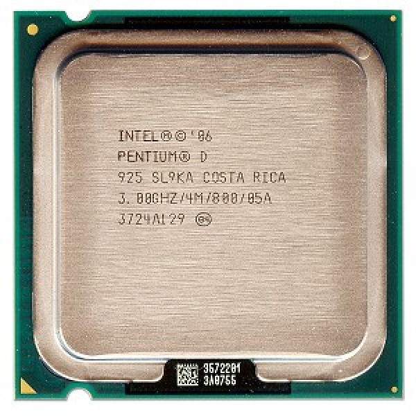 Intel Pentium D Processor 925  (4M Cache, 3.00 GHz, 800 MHz FSB)