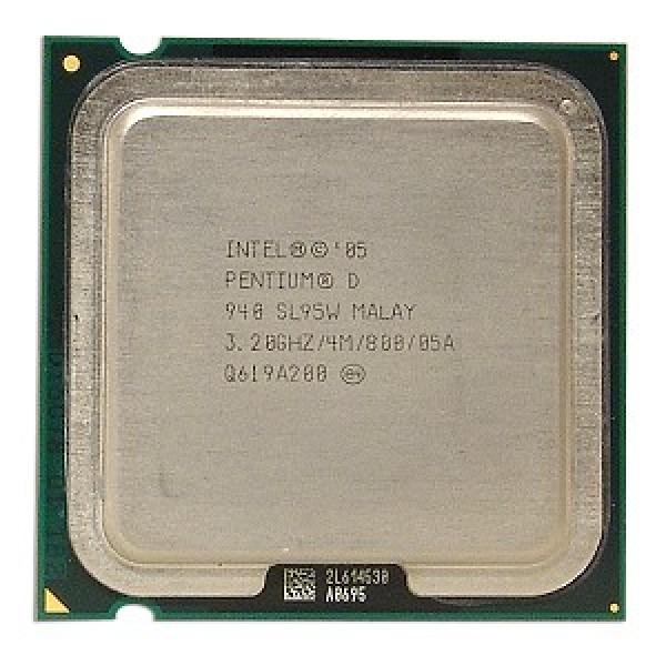 Intel Pentium D Processor 940  (4M Cache, 3.20 GHz, 800 MHz FSB)