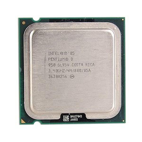 Intel Pentium D Processor 950  (4M Cache, 3.40 GHz, 800 MHz FSB)