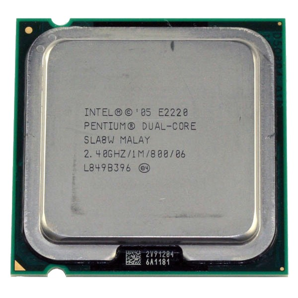 Procesor Intel  Dual Core  E2220  (1M Cache, 2.40 GHz, 800 MHz FSB)