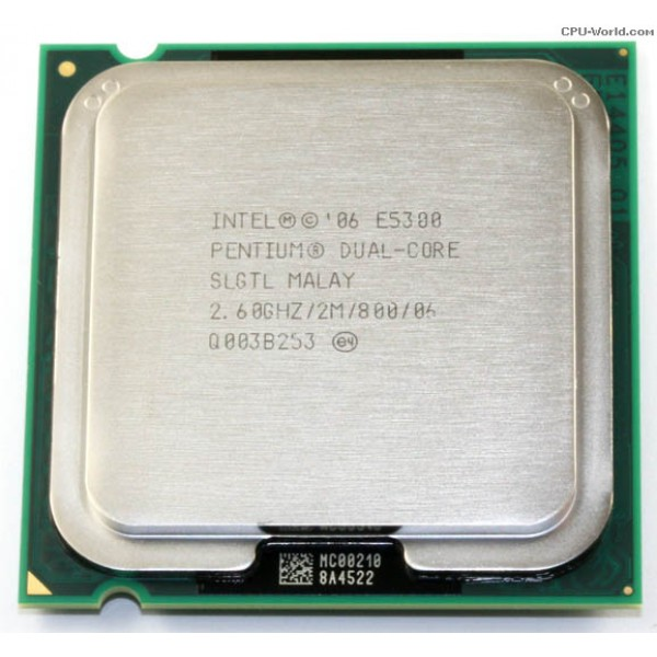 Procesor Intel Dual Core E5300 2.6 GHz 2 MB LGA775