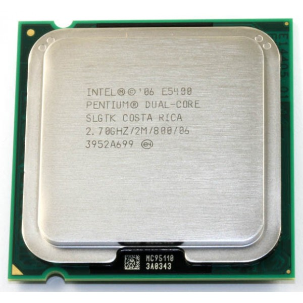 Procesor Intel  Dual Core E5400 2.7 GHz 2 MB 800 MHz 64-bit 45 nm