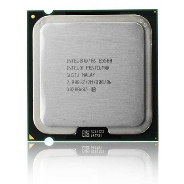Procesor Intel Dual Core E5500 2.8 GHz 2 MB LGA775 82 mm2