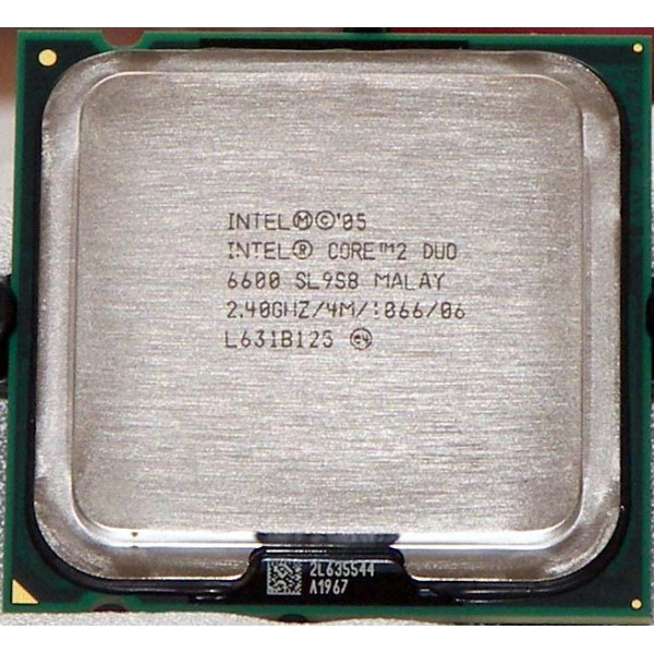 CORE2DUO E6600  4M Cache, 2.40 GHz, 1066 MHz FSB
