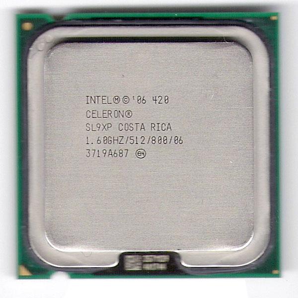 Procesor Intel Celeron D SL9XP 512K Cache, 1.60 GHz, 800 MHz FSB Socket 775