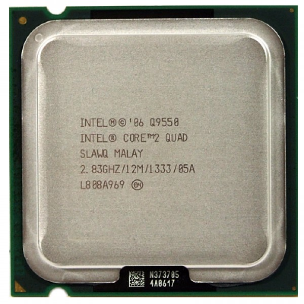 Procesor Intel Core 2 Quad Processor Q9550 2.83 GHz 12 MB 1333 MHz 64-bit