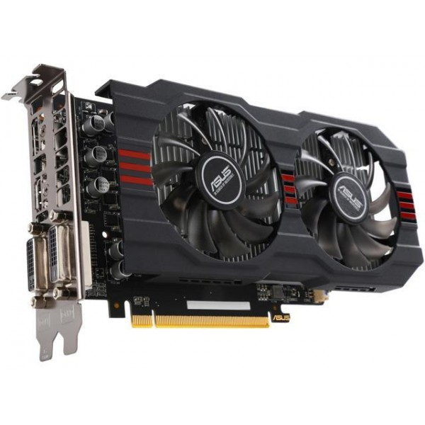 Placa video ASUS AMD Radeon R7 360 OC 2GB GDDR5 128bit HDMI, 2 x DVI, Display port