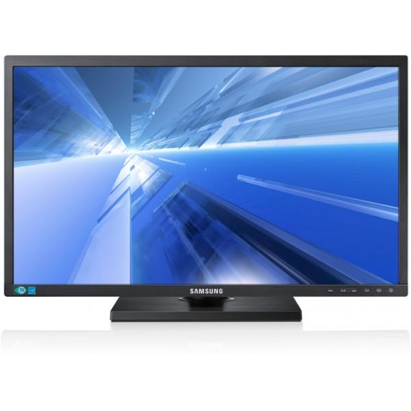 Monitor LED Business Samsung S24C450BW 24 inch 5ms Black Wide Slim 1920x1200 Grad A