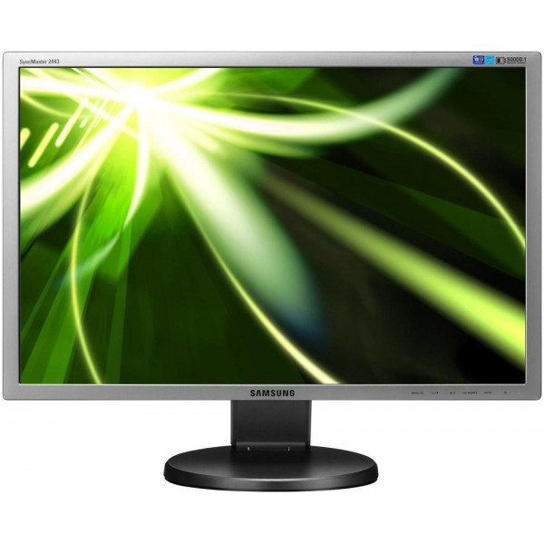Monitor LCD Samsung 24 inch 5 ms wide black 1920x1200 Grad A 2443FW