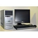 Kit Calculator Compaq D31M  Pentium 4 1.70 GHz/1GB/80GB + Monitor Fujitsu Siemens 17""