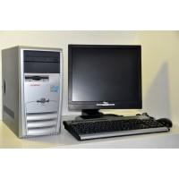 """Kit Calculator Compaq D31M  Pentium 4 1.70 GHz/1GB/80GB + Monitor Fujitsu Siemens 17"""""""