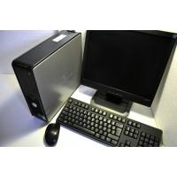 "Calculator Complet + Monitor 17"", Dell Optiplex 740 Cadou Mouse si Tastatura"