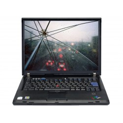 Laptop Lenovo Thinkpad R60 Dual Core T2400(1.83GHz), RAM 2 GB, HDD 160 GB, 15 Inch