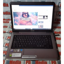 "Laptop Toshiba Satellite Intel Core2Duo T5870 2.0GHz 4GB RAM SSD 128GB 15.6"" A350-1TD"