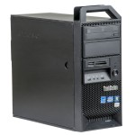 WorkStation second hand Lenovo E31  Xeon  E3-1220 16GB DDR3 HDD 500GB SSD 120GB DVD RW