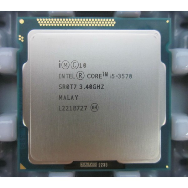 Procesor Intel Core i5 3570 3.4GHz 4 Cores 4 Threads 6 mb HD 2500