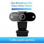 Cameră web 720P Webcam cu microfon pentru apeluri video prin difuzare live Computer Web Camera